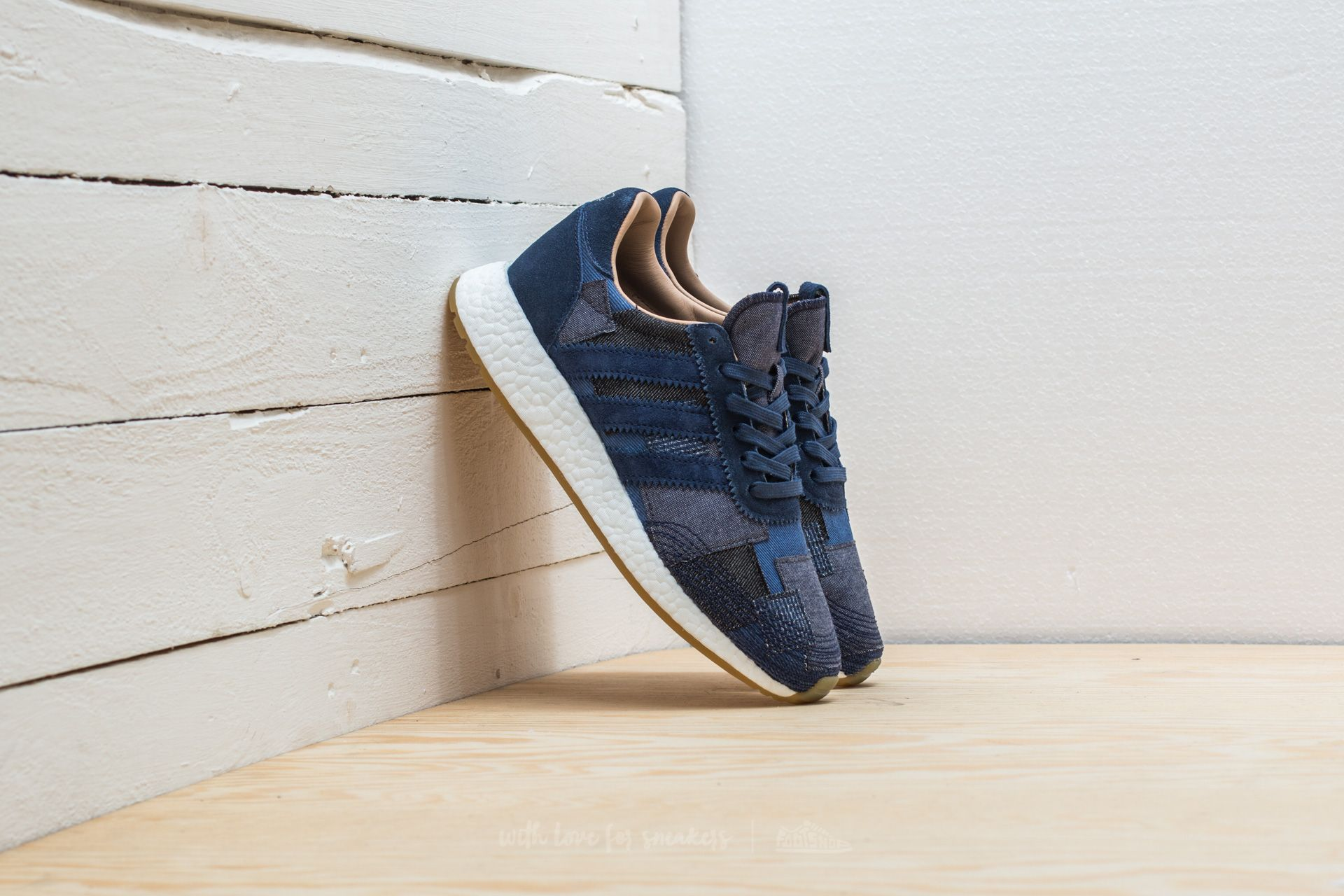 Adidas Consortium X End X Bodega Iniki Runner S.e. Blue/ Tan