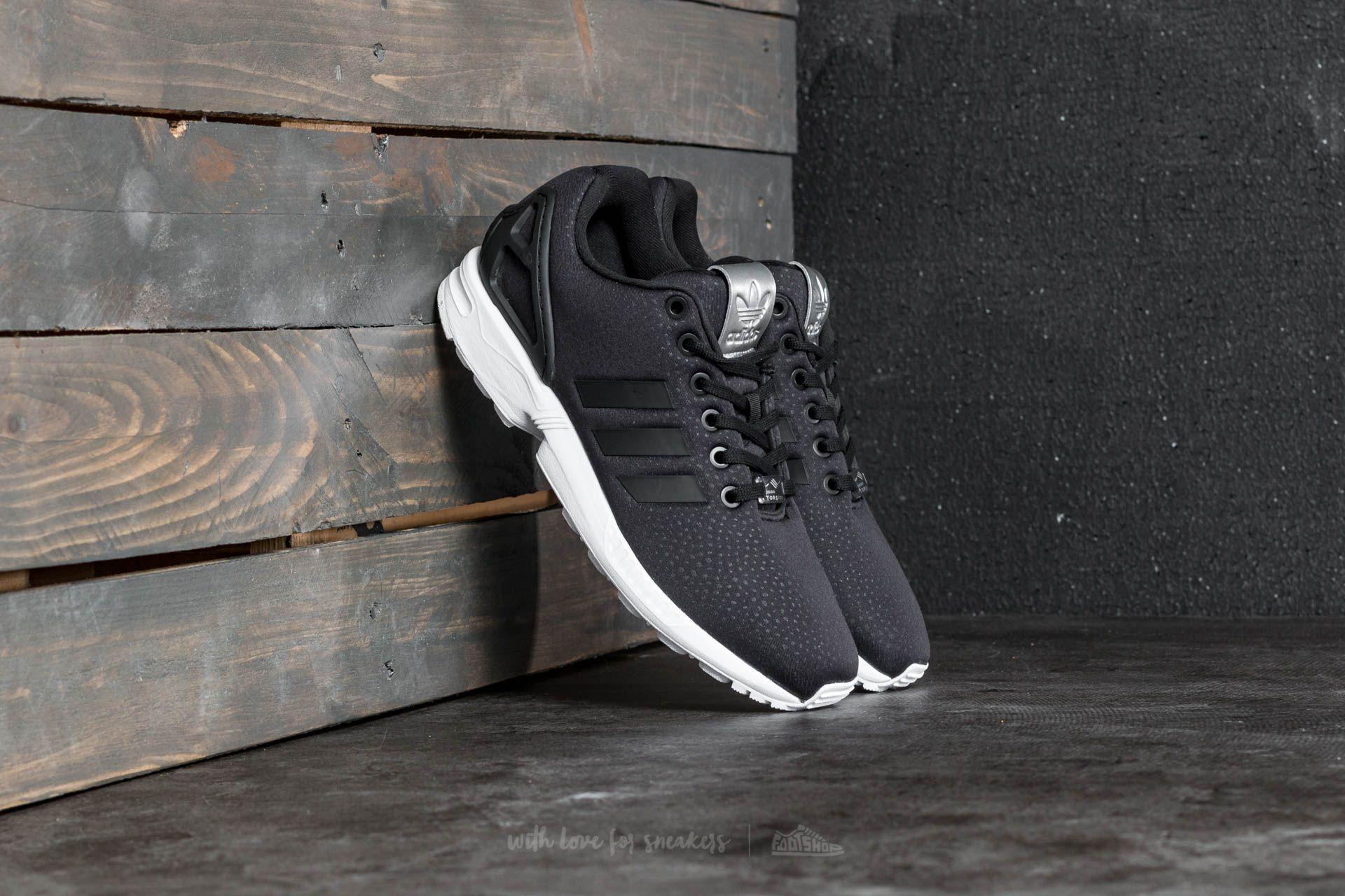 Adidas Zx Flux W Core Black/ Core Black/ Silver Metallic