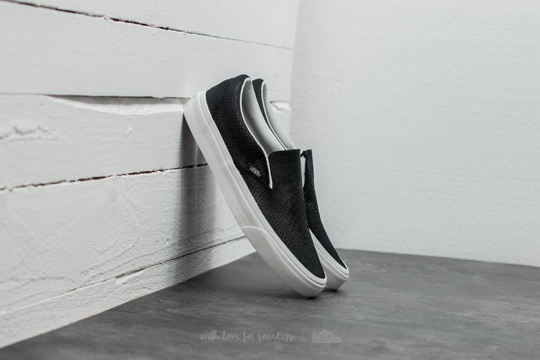 Vans Classic Slip-on (snake) Black/ Blanc