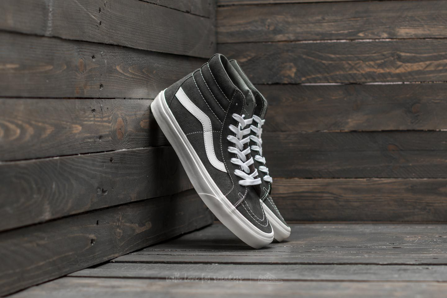 Vans Sk8-hi Slim Zip (boom Boom) Black/ True White