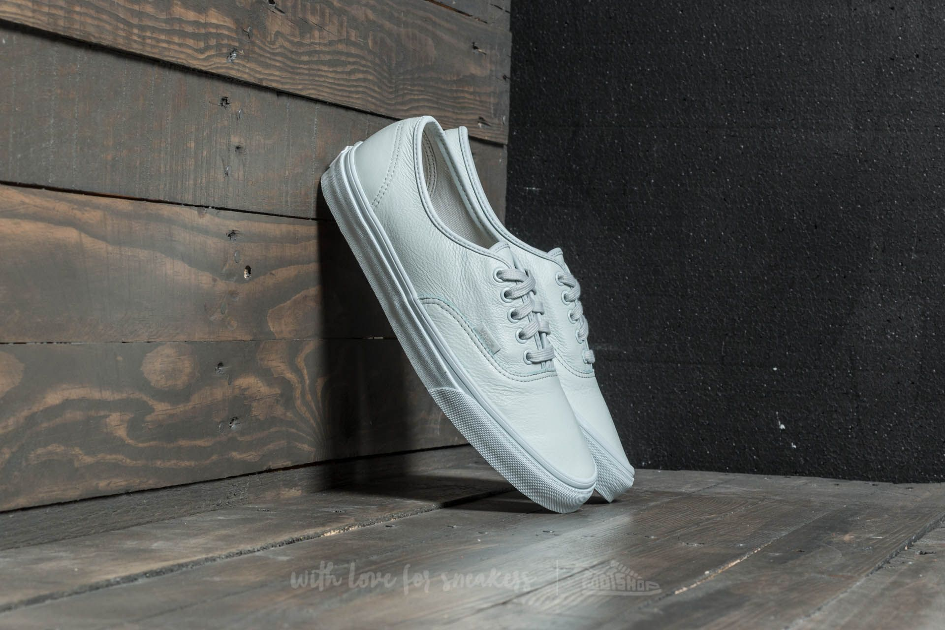 Vans Authentic (leather) Mono/ Ice Flow