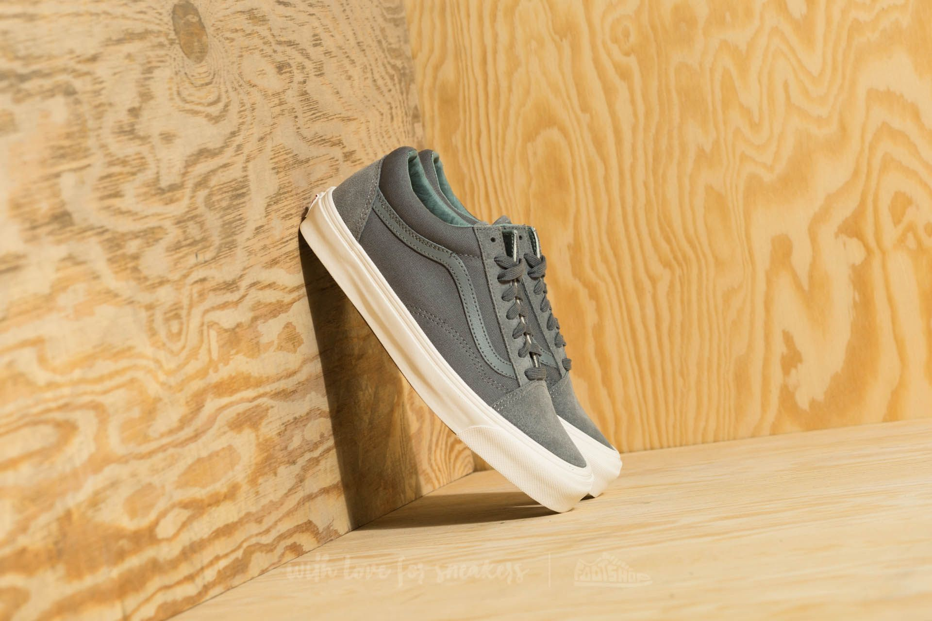 Vans Og Old Skool Lx (suede/ Canvas) Mentol Mind/ Trolls