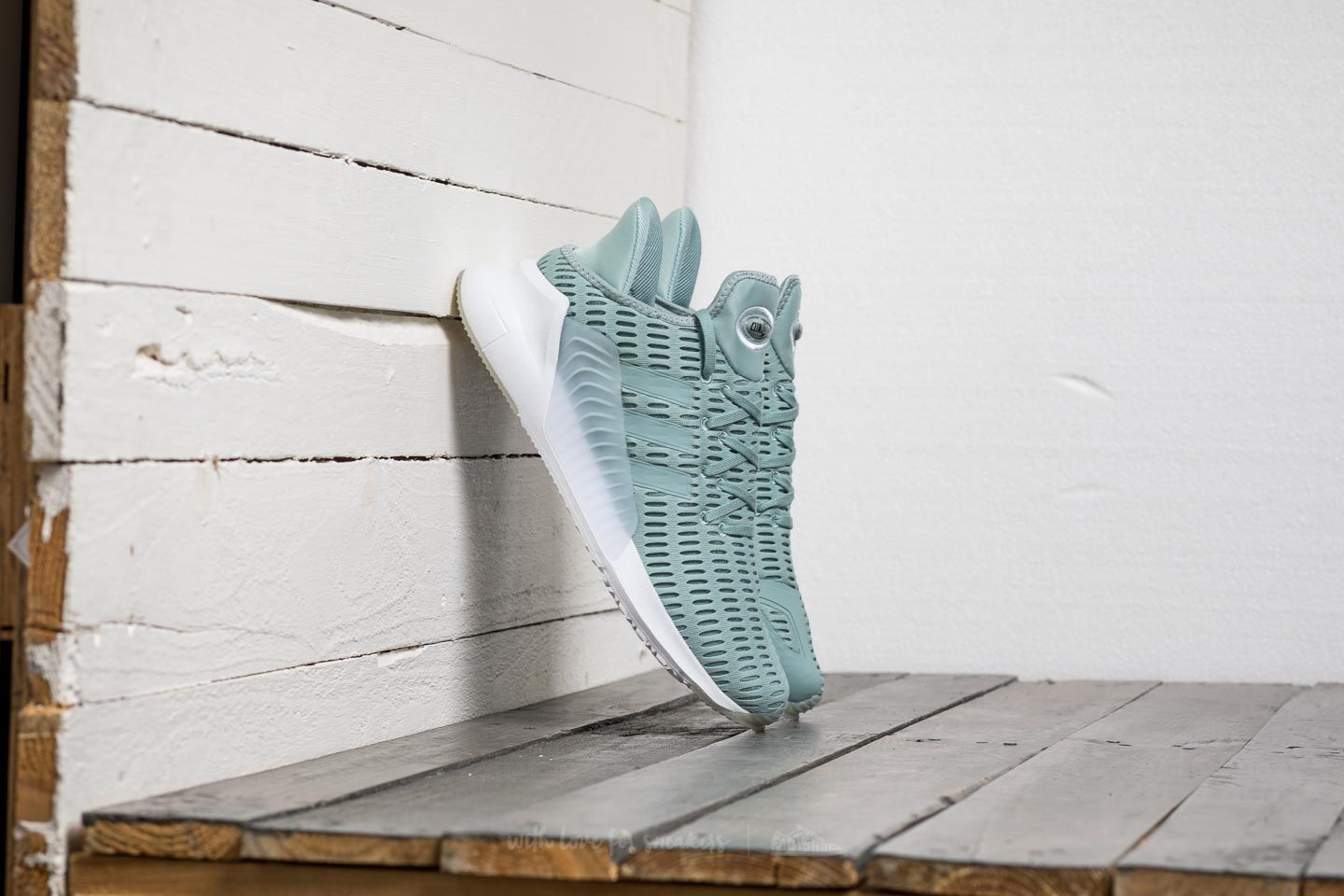 Adidas Climacool 02/ 17 W Tactile Green/ Tactile Green/ Footwear White