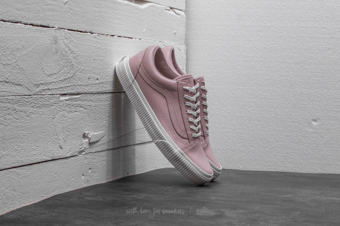 Vans Old Skool (embossed Sidewall) Sepia Rose/ White