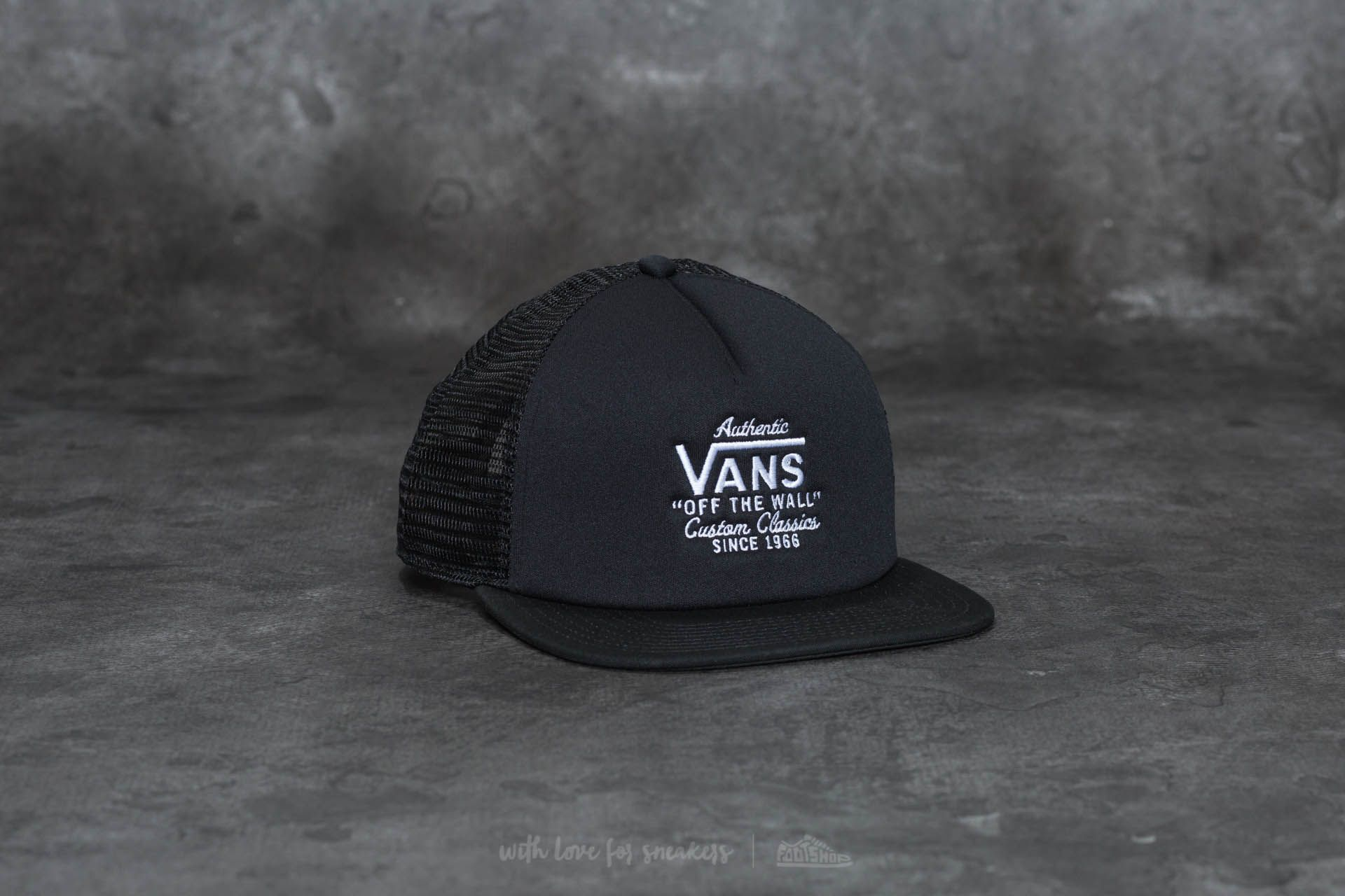 Vans Galer Trucker Black