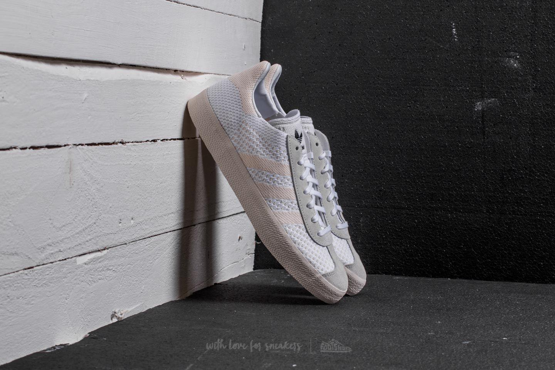 Adidas Gazelle Primeknit Ftw White/ Chalk White/ Chalk White