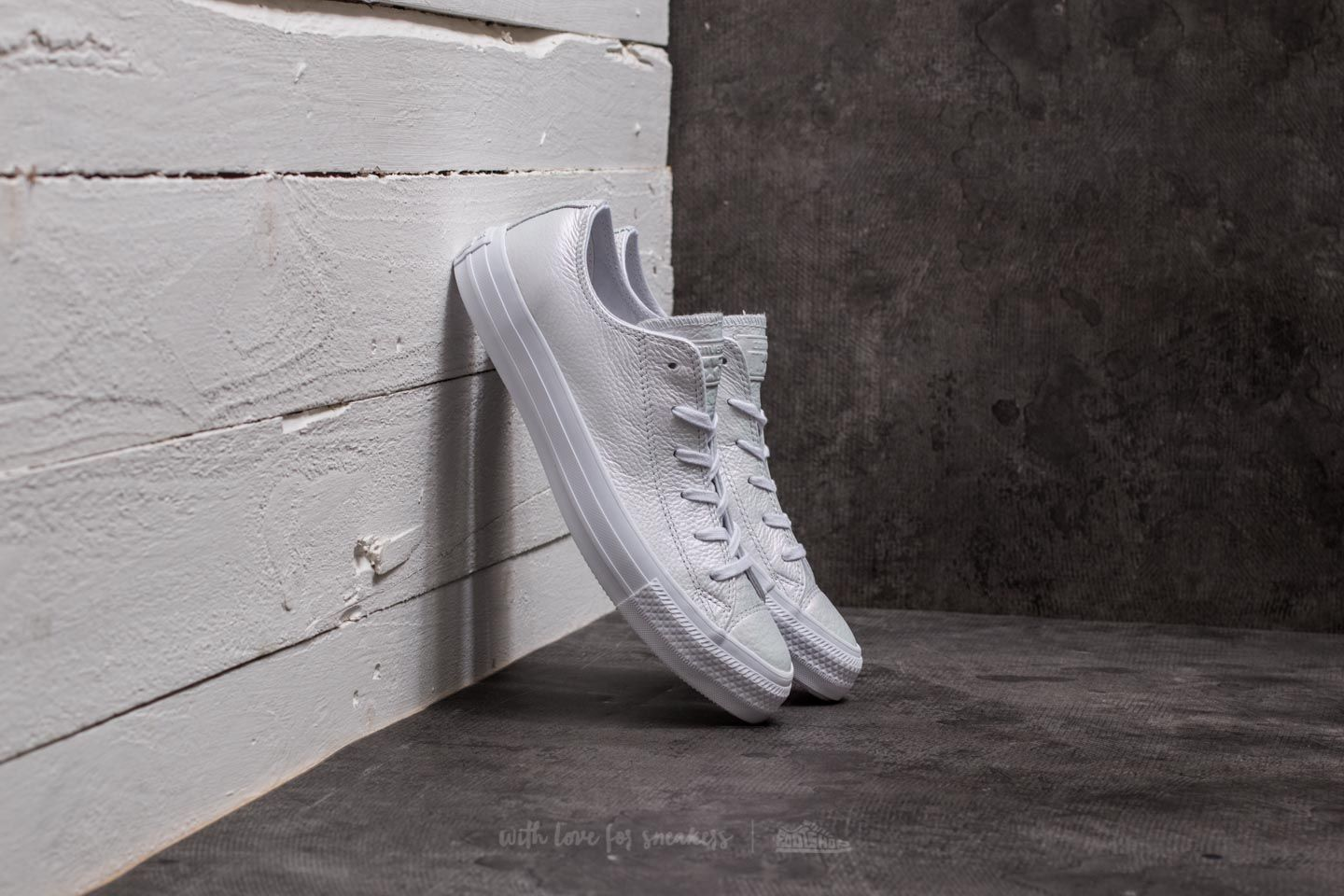 Converse Chuck Taylor All Star Ox White/ White/ White