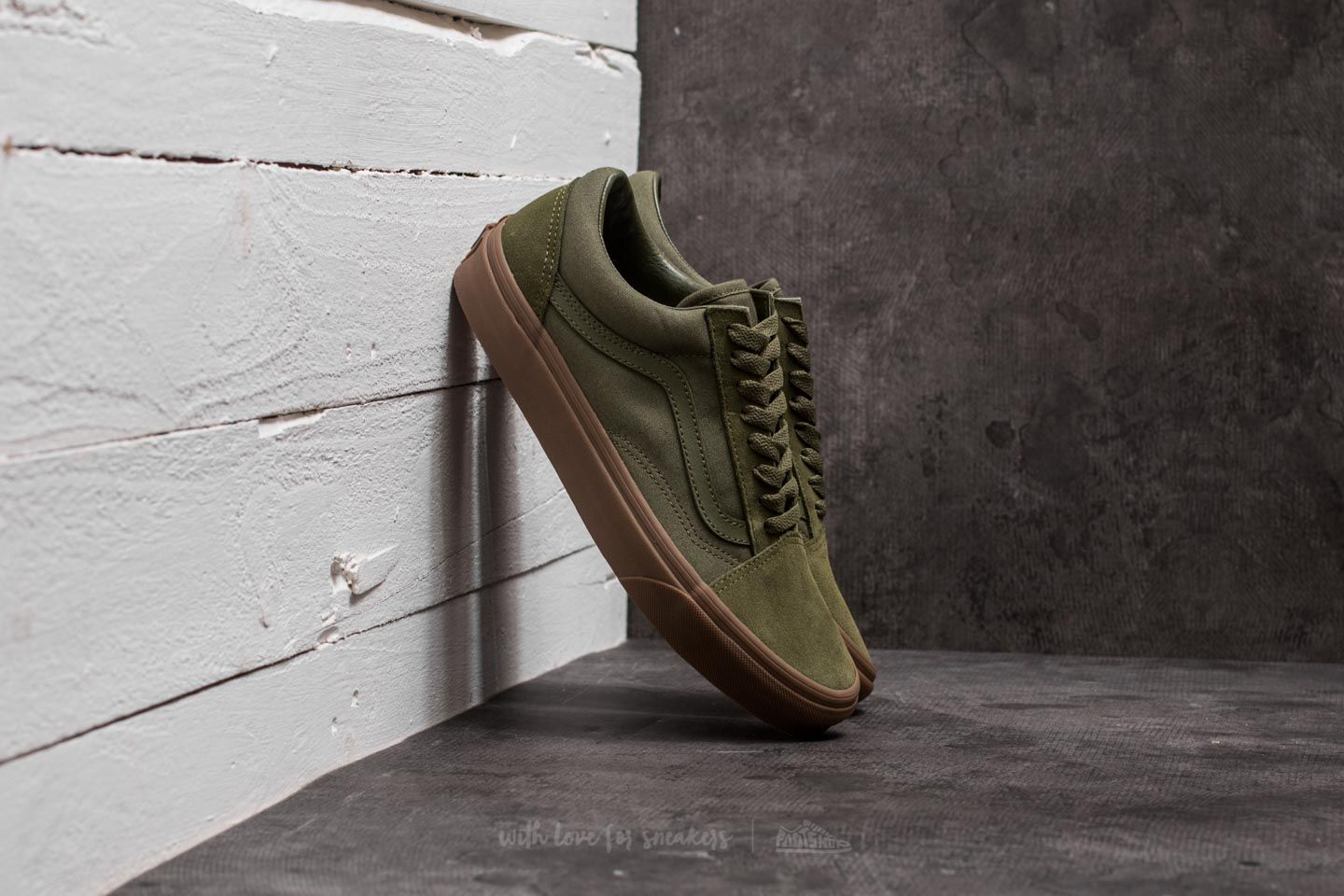 Vans Old Skool (suede/ Canvas) Winter Moss/ Green