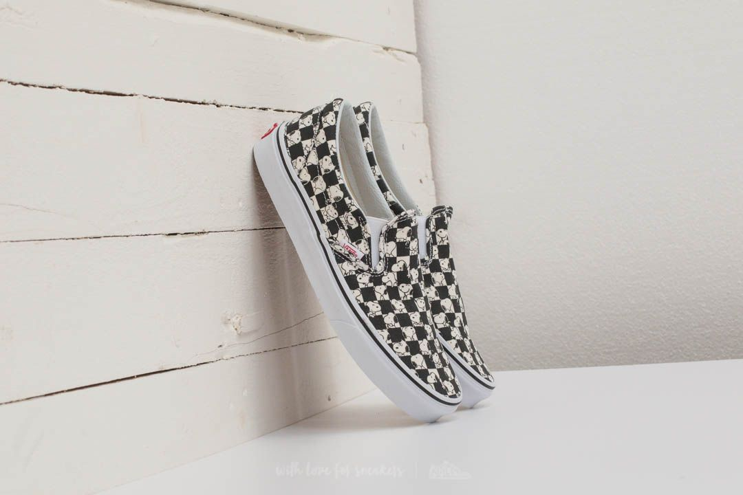 Vans X Peanuts Slip-on Snoopy/ Checkerboard