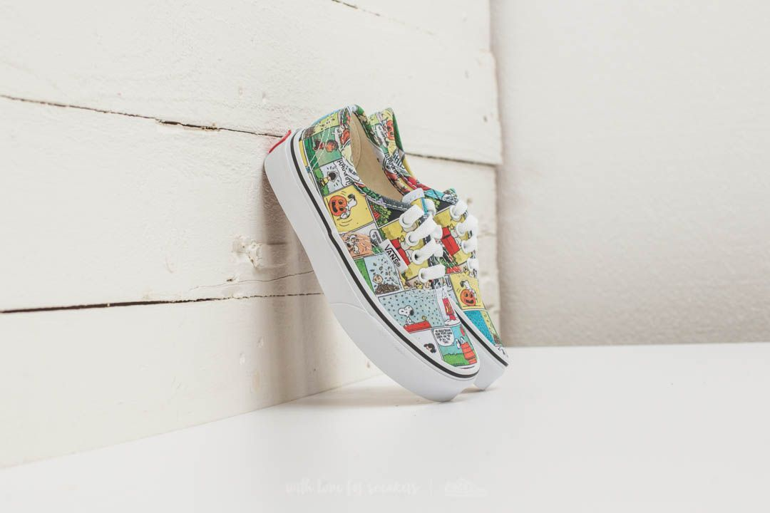 Vans X Peanuts Authentic Comics/ Black/ True White
