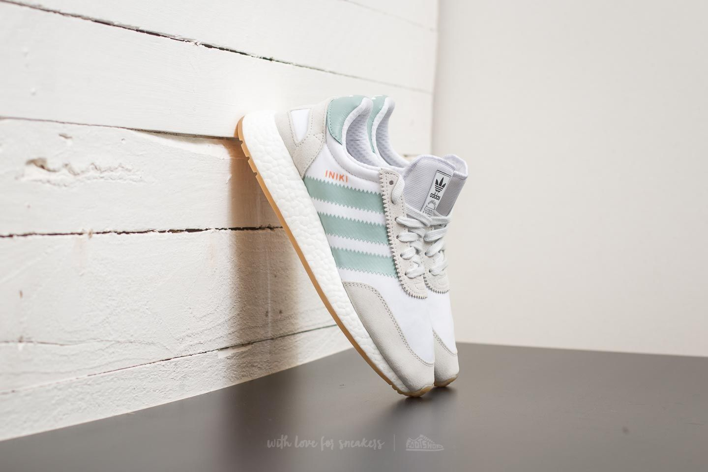 Adidas Iniki Runner W Ftw White/ Tactile Green/ Gum