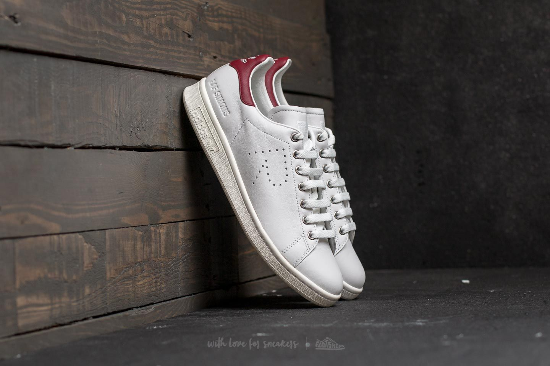 Adidas X Raf Simons Stan Smith Vintage White/ Collegiate Burgundy