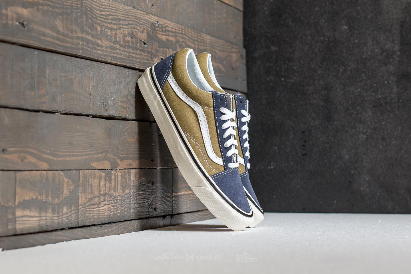 Vans Old Skool 36 Dx (anaheim Factory) Og Navy/ Og Olive