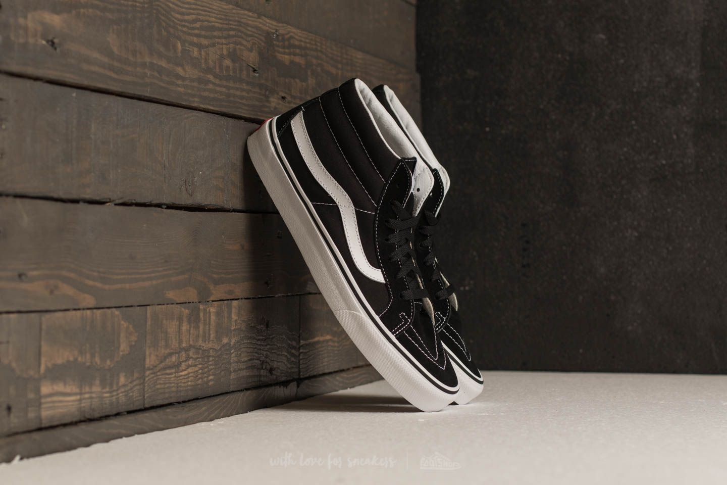 Vans Sk8-mid Reissue Black/ True White