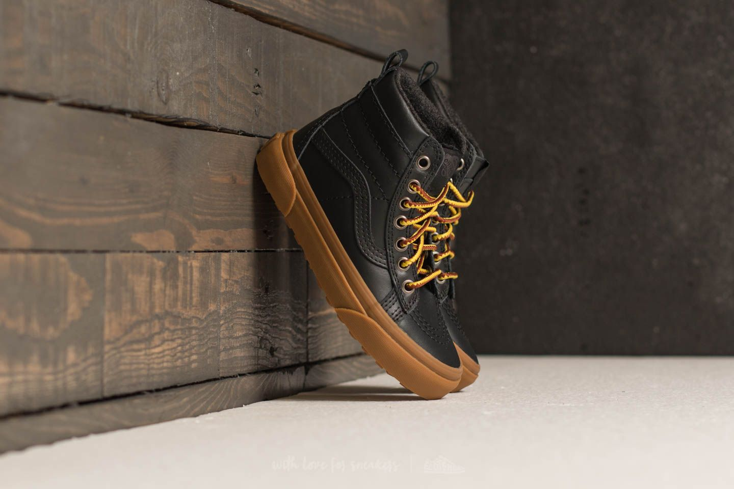 Vans Sk8-hi (mte) Black/ Leather/ Gum