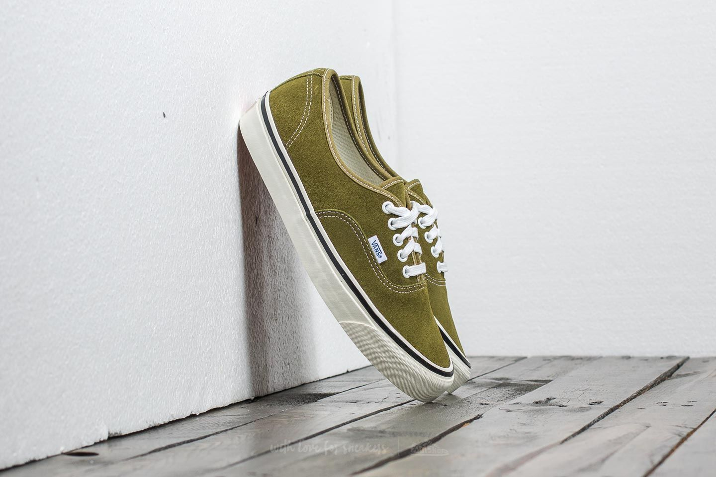Vans Authentic 44 Dx (anaheim Factory) Suede/ Og Olive