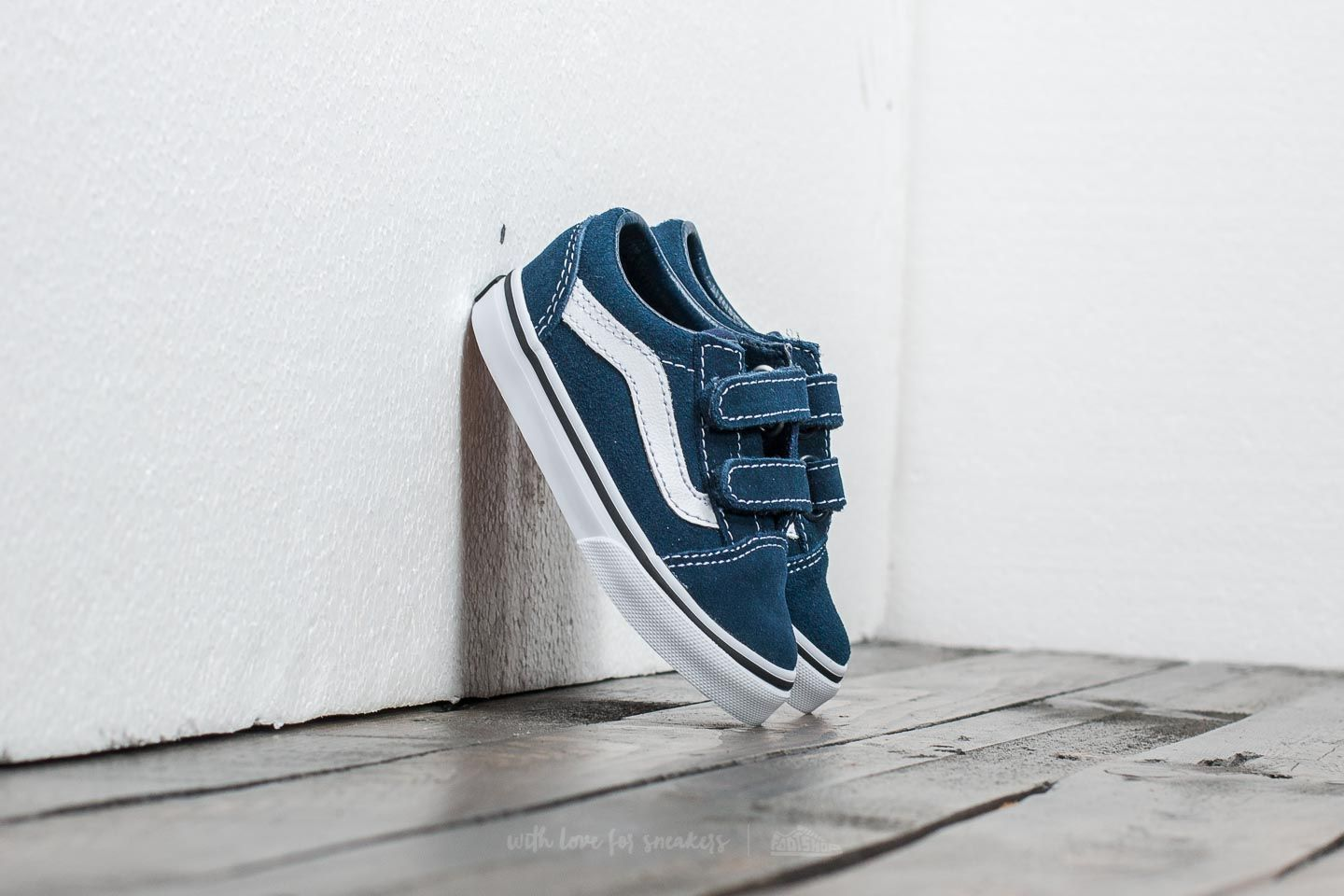 Vans Old Skool V (suede) Dress Blues/ Black