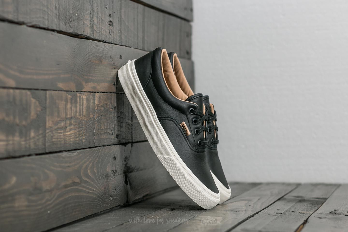 Vans Era (lux Leather) Black/ Porcini