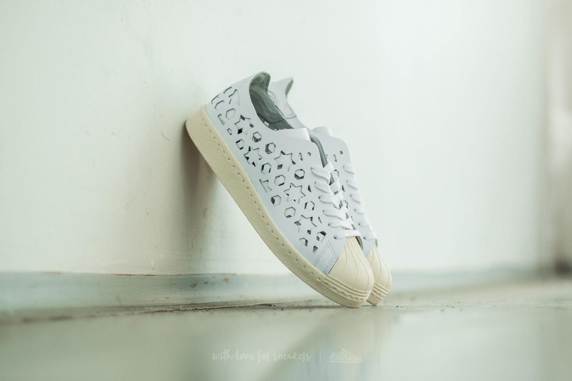 Adidas Superstar 80s Cut Out W Ftw White/ Ftw White/ Core White