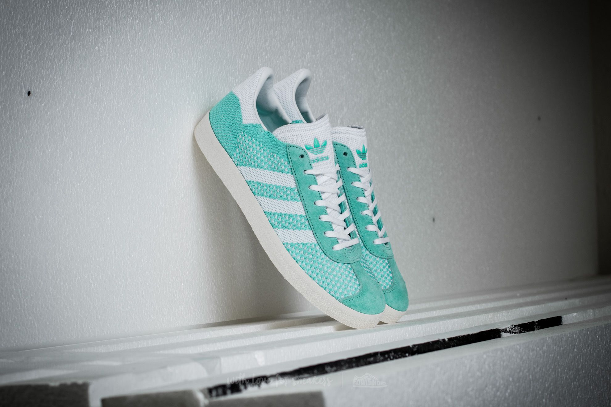 Adidas Gazzele Primeknit W Easgreen/ Ftw White/ Core White