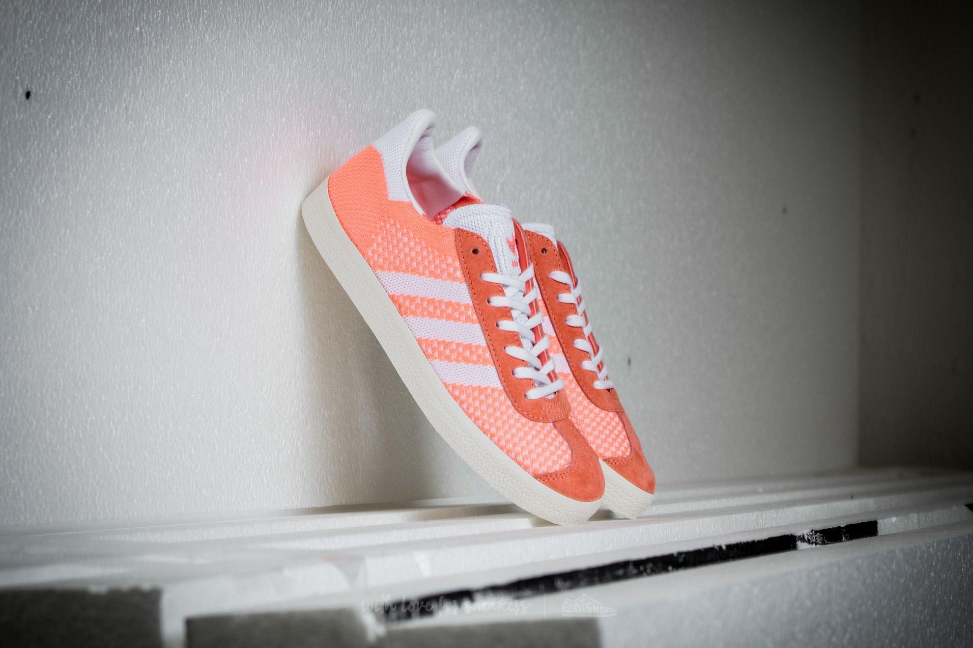 Adidas Gazelle Primeknit W Sun Glow/ Ftw White/ Core White