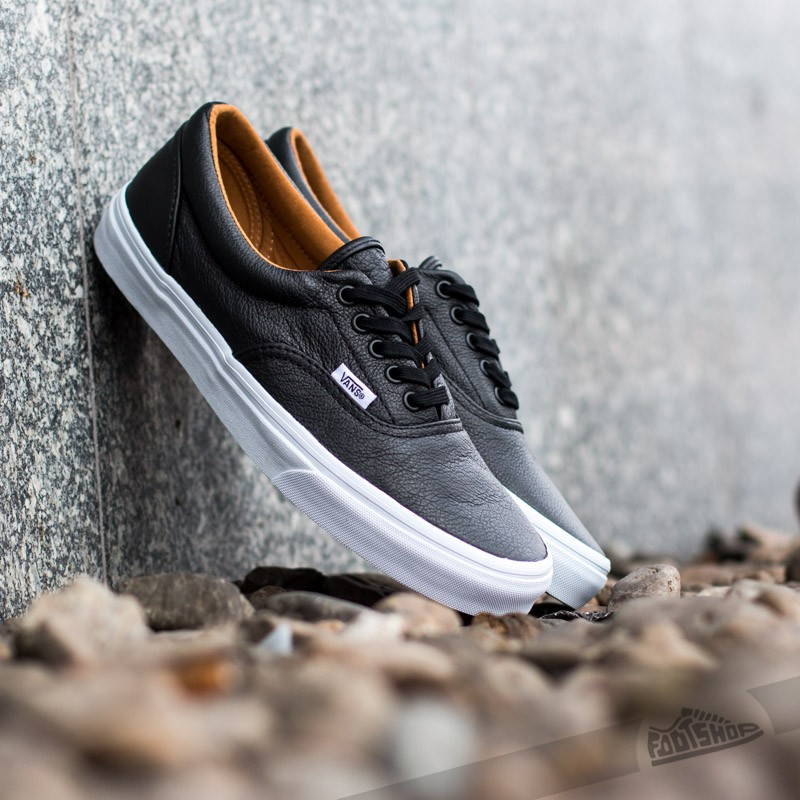 vans era premium leather