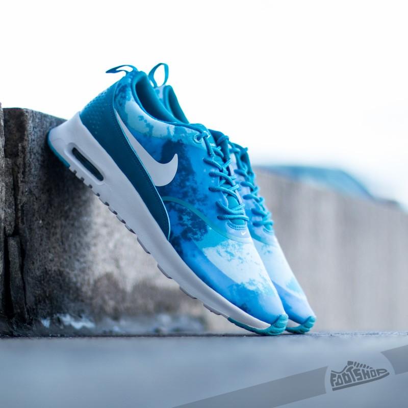 nike air max thea light blue