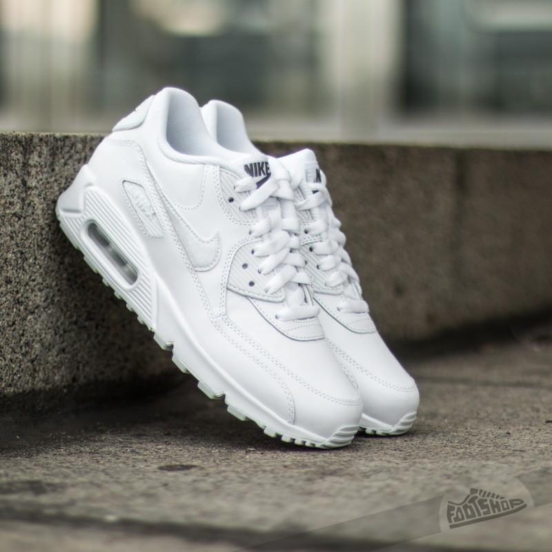 air max 90 gs white