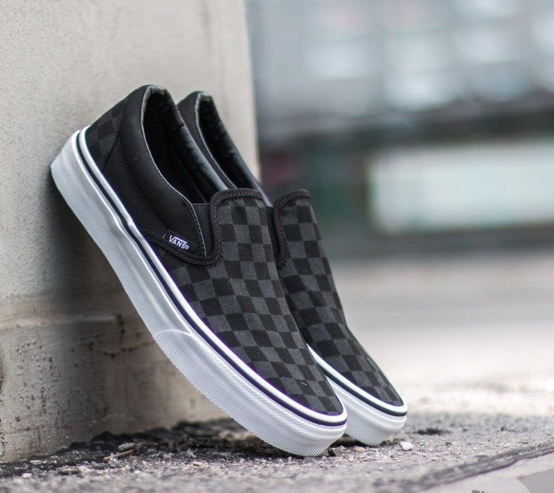 Vans Slip On Checkerboard Black