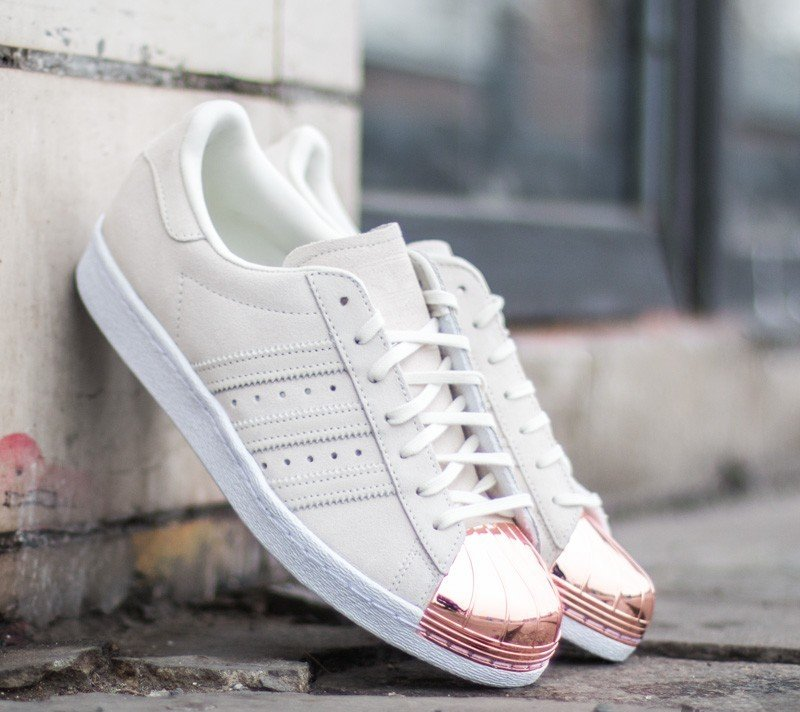 Golden Goose Woman Sneakers Superstar White Silver Metal Lettering
