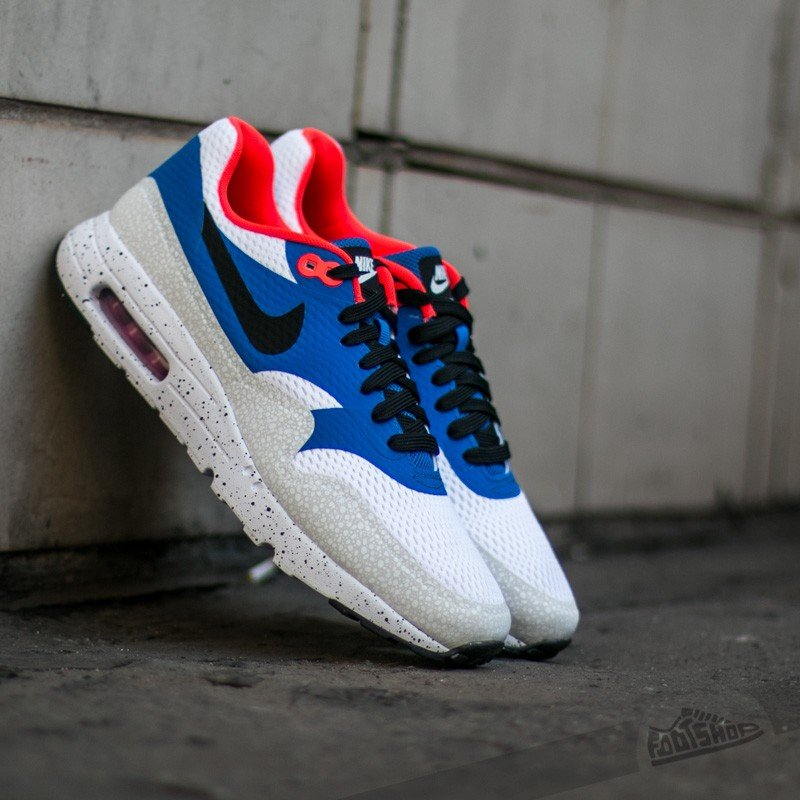 new product 5c742 56f48 Nike Sportswear Air Max 1 Essential - Brown   University Blue   Volt