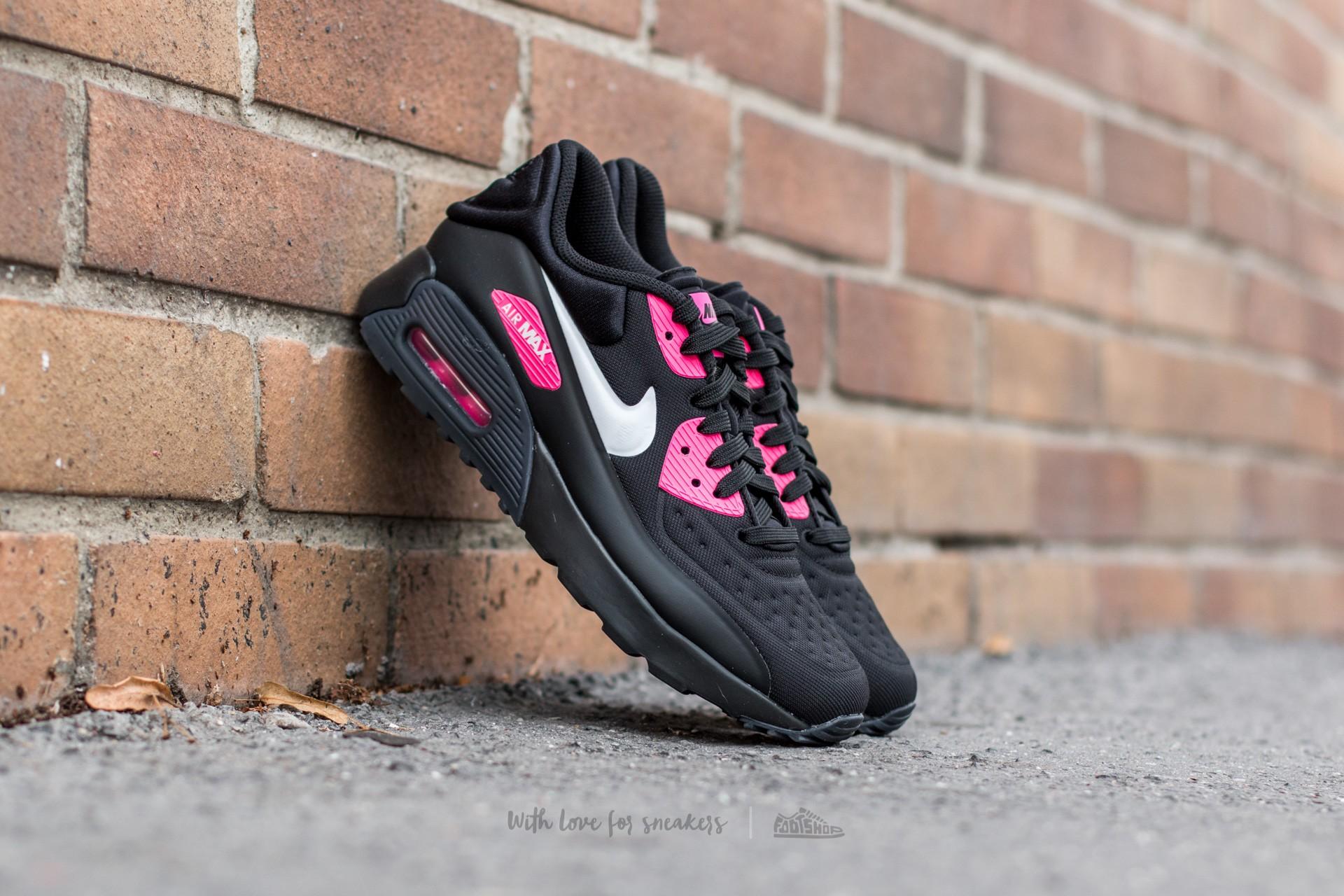 nike air max 90 black and pink
