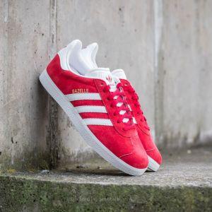 adidas Gazelle Power Red/ White/ Gold Metallic