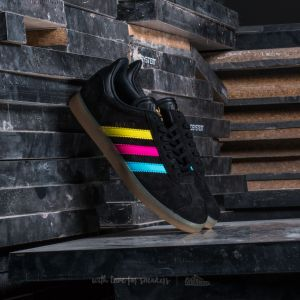adidas Gazelle Core Black/ Bright Cyan/ Shock Pink